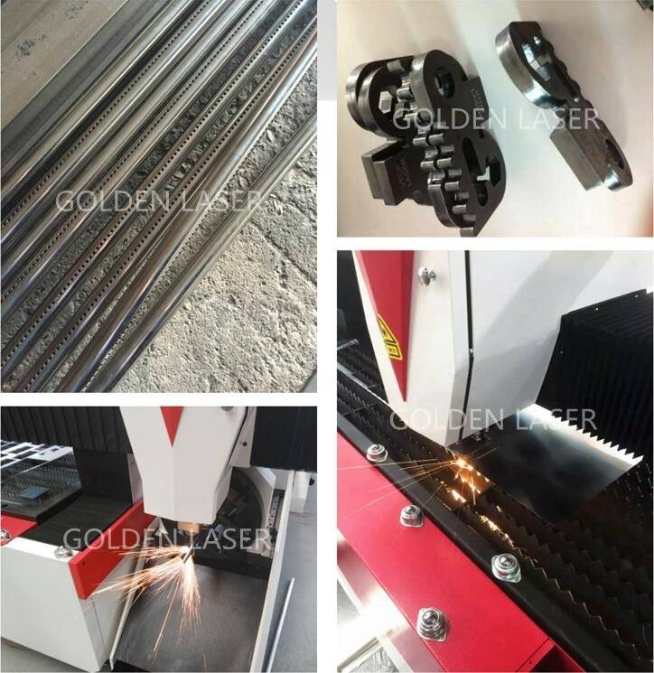 fiber laser machine cutting tube and sheet metal