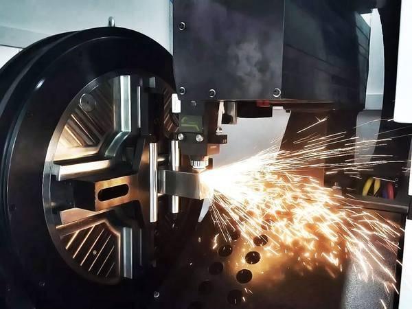fiber laser pipe cut