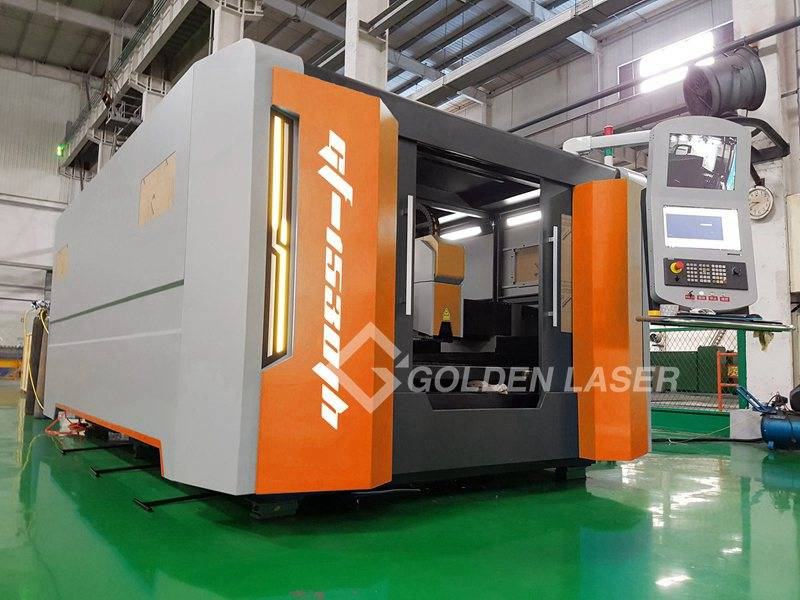 fibre laser cutting machine with pallet changer