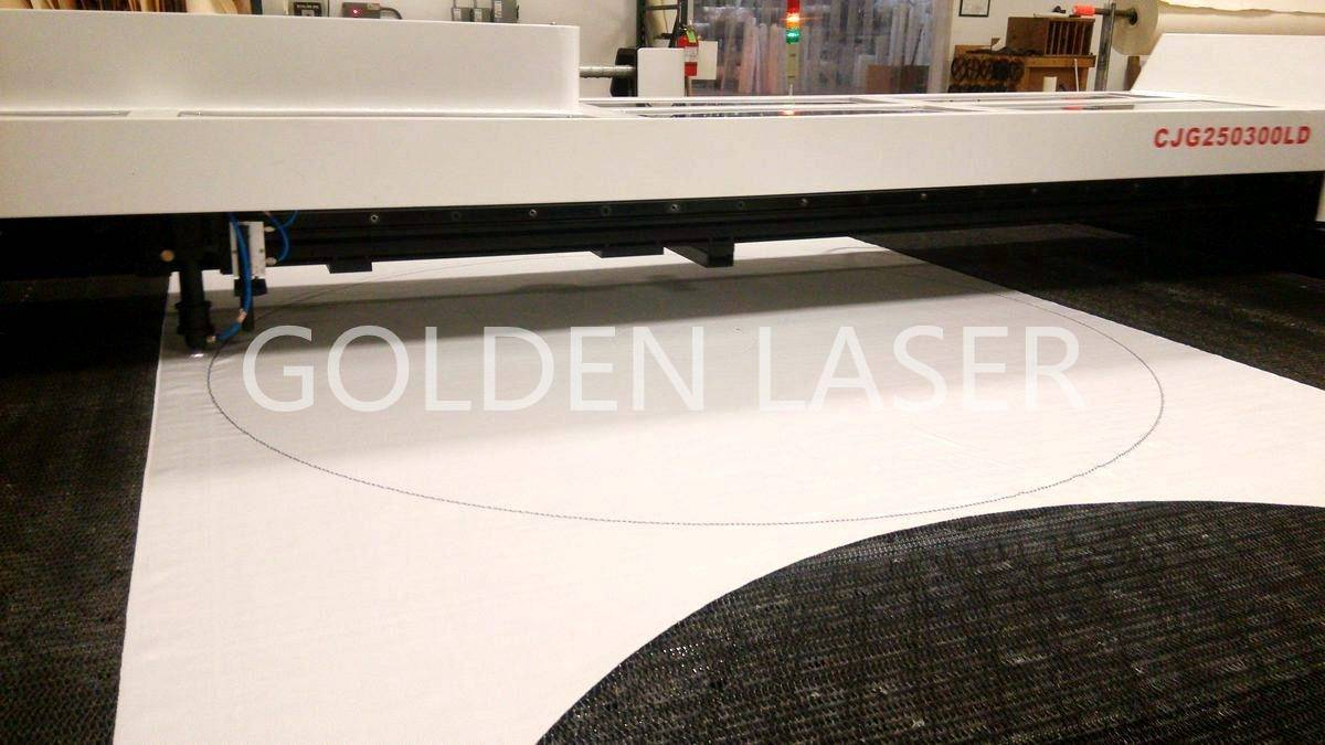 filter cloth laser cutting machine CJG250300LD
