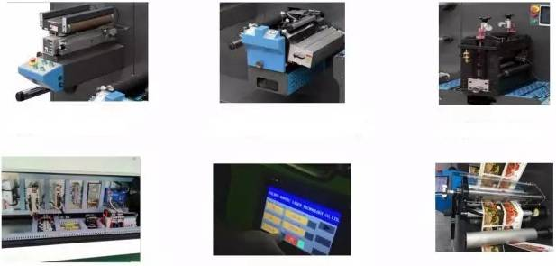 fully automatic production process for label laser die cut