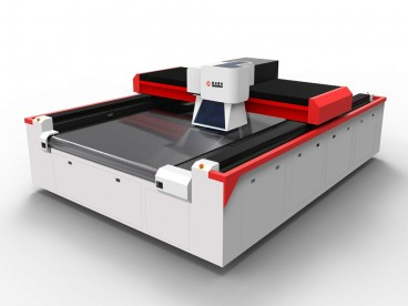 Galvo Laser Cutting sy Perforating Machine ho an'ny Jersey Fabric