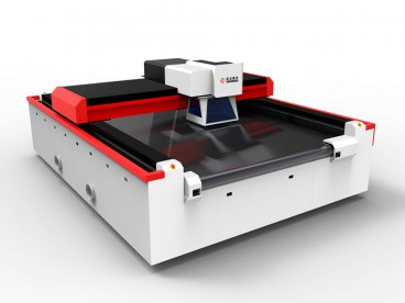 CO2 Galvo Laser Machine with Conveyor for Engraving Cutting