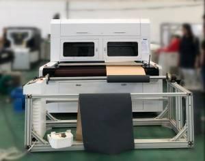 Galvo Лазернай перфарацыі Машыны для Наждачнай абразіўнай паперы