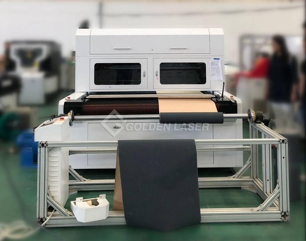 galvo laser perforating machine for sandpaper abrasive paper-factory 1