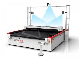 Tunay na katad Laser Cutting Machine