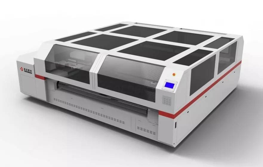 high-speed and high-precision laser cutting system for filtration industry