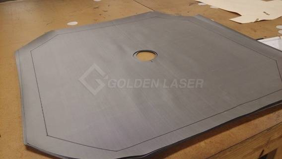 industrial fabric filter laser cutting