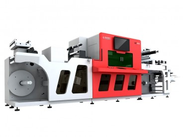 Dlulisa ku-Roll Label Laser Die Cutting Machine