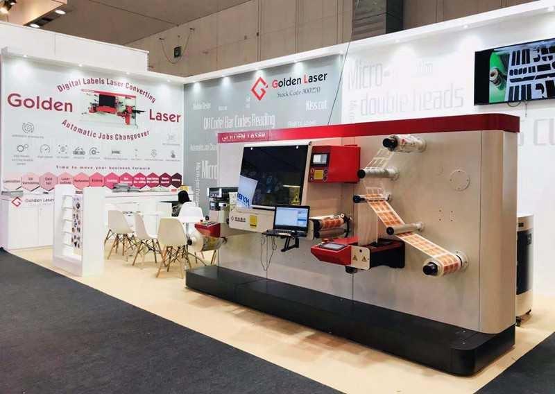 Labelexpo2019 | Golden Laser brings digital label laser die-cutting technology