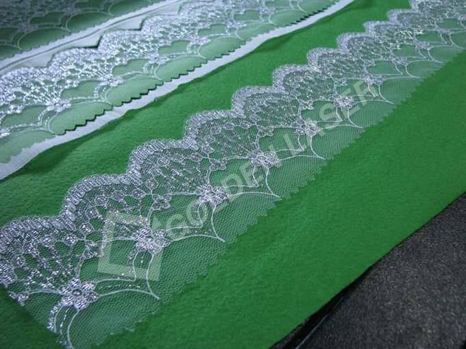 lace cut with laser