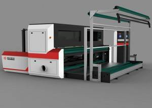 Lace Laser Cutting Machine fyrir Warp Lace