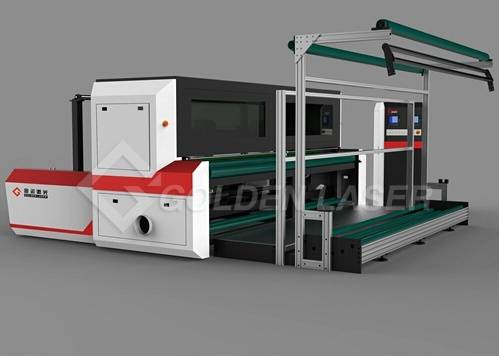 lace laser cutting machine-golden laser