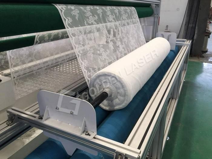 lace laser cutting machine testing 2