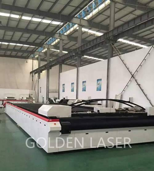 large format laser cutting machine for tent