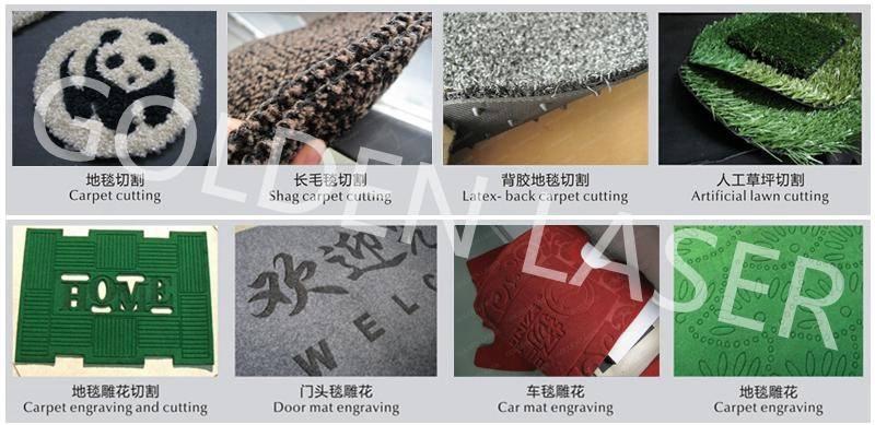 amostras de laser tapete de corte CJG-210300LD