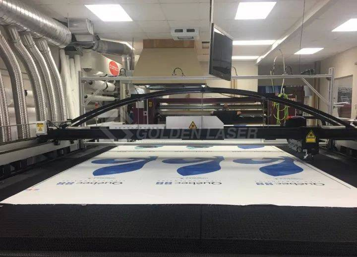 laser cutter flags