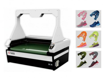 Laser Cutter for Knitting Vamp, Mesh Fabric Sports Shoe Upper