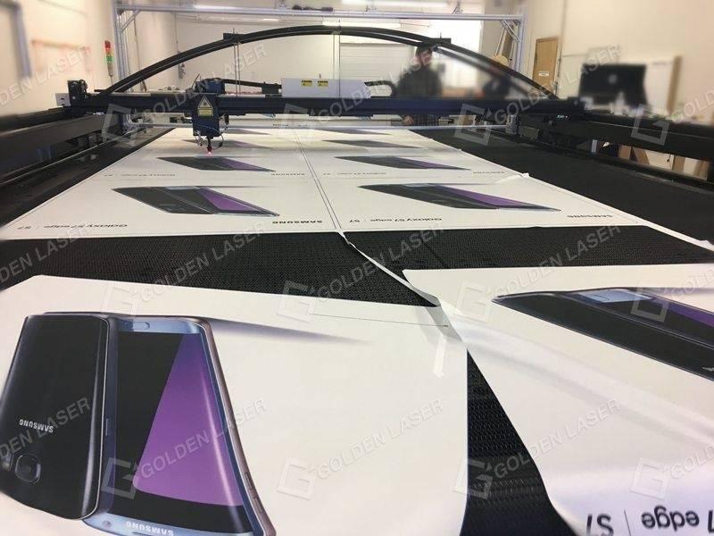 laser cutting advertising banner