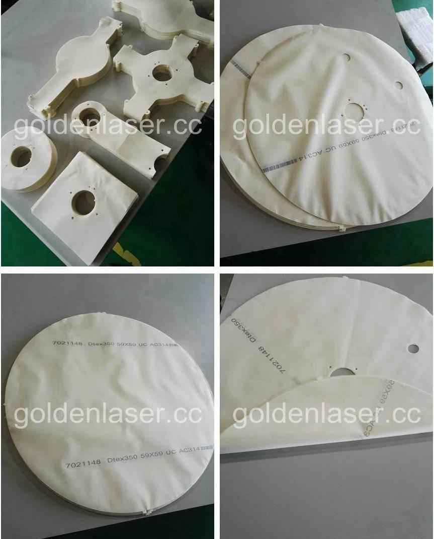 laser cutting airbag samples