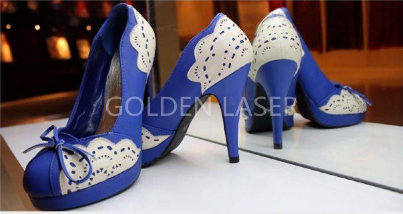 laser cutting and engraving shoes