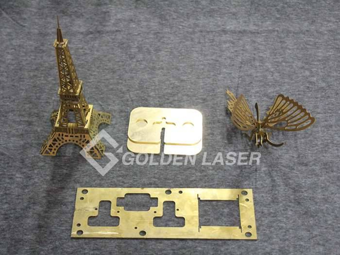 laser cutting brass sheet