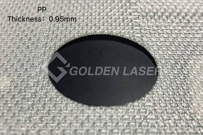 laser cutting filter material – PP 0.95mm