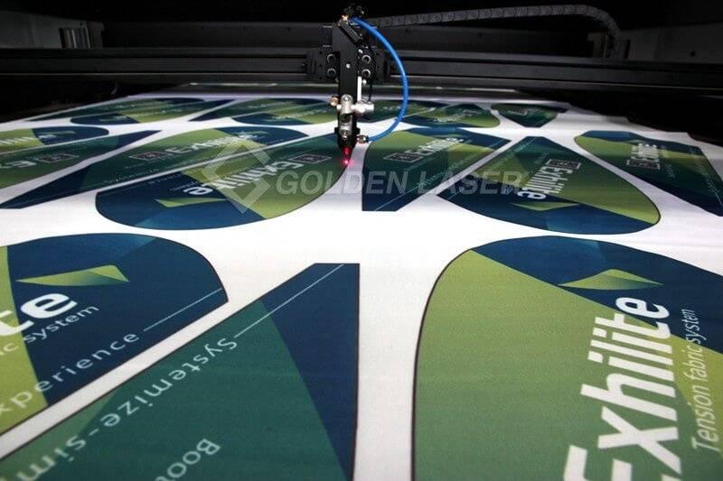 laser cutting flag banner