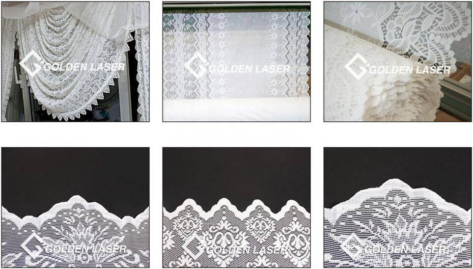 laser cutting lace sample reference