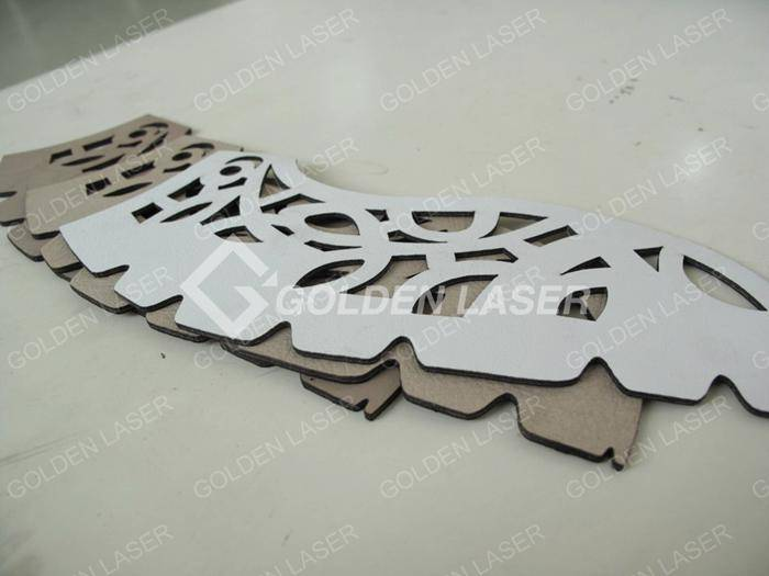 laser cutting leather