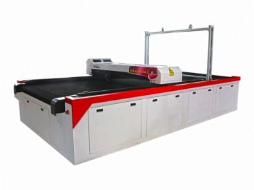 Fabric Laser Cutting Machine with Stripe and Plaid Matching Function