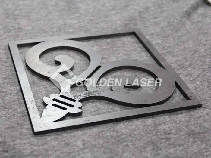 laser cutting mild steel sheet
