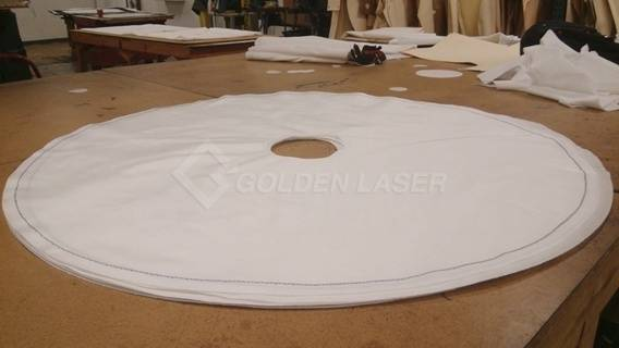 laser cutting of filtration fabric