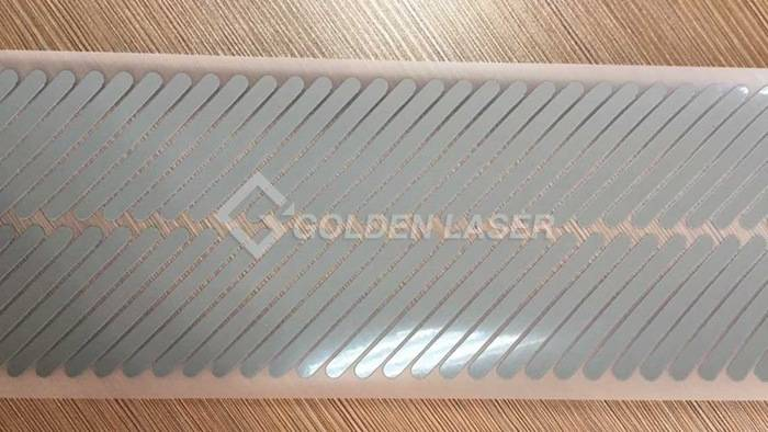 laser cutting reflective tape 1