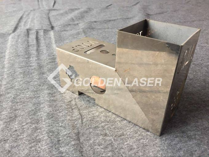 laser cutting square pipe