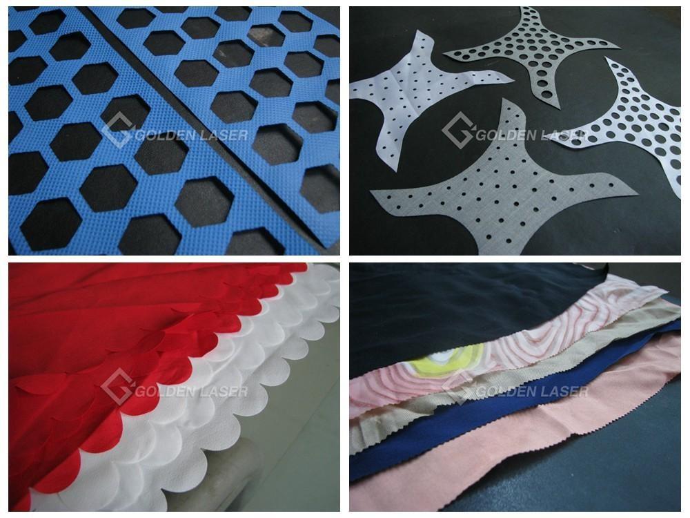 lasersny tekstiele