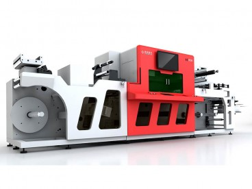 Roll to Roll Laser Cutting Machine for Film and Tape