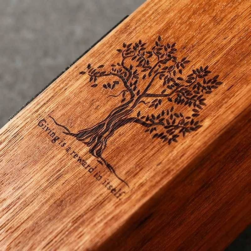 laser engraved wooden trophy 3