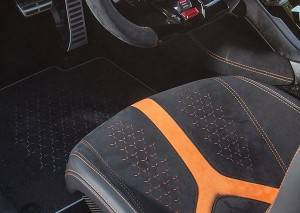Laser engraving car interior, to create a soul-matching driving space