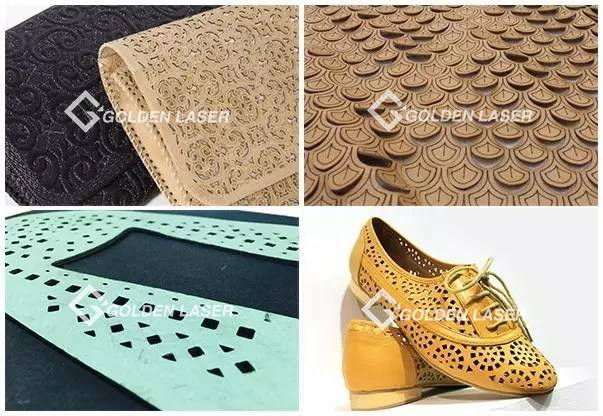 laser engraving for shoe leather