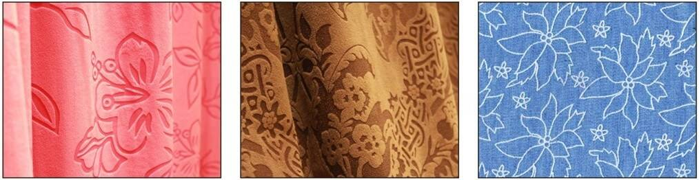 laser engraving textile fabric