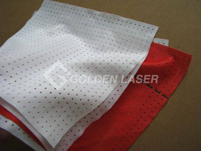 laser perforating fabric