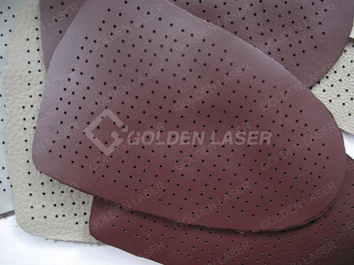 laser punching leather for shoe