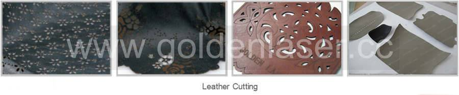 leather laser cutting samples