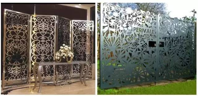 metal doors and windows decoration