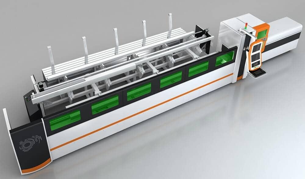 minimum tube laser cutting machine