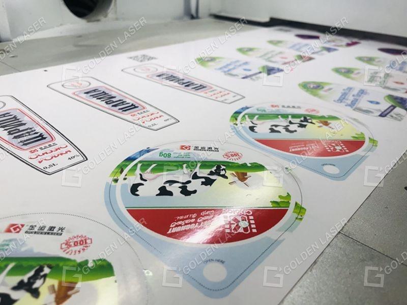 laser die cutting machine for labels