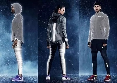 Application of Reflective Materials in Clothing