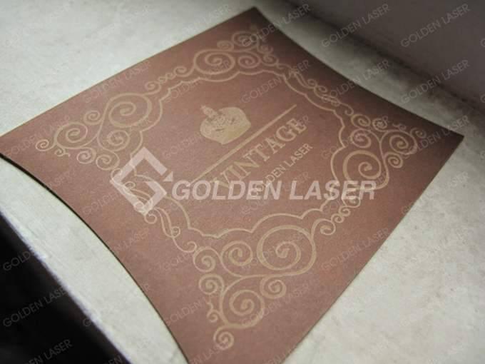 paper laser engraving