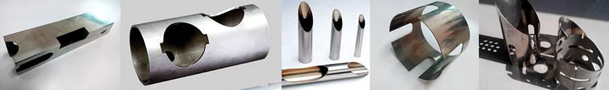 potrubní vzorky řezání laserem